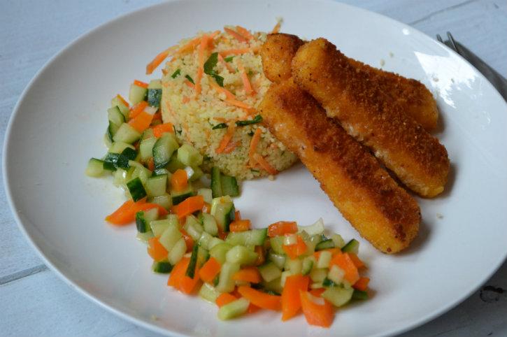 Oranje couscous