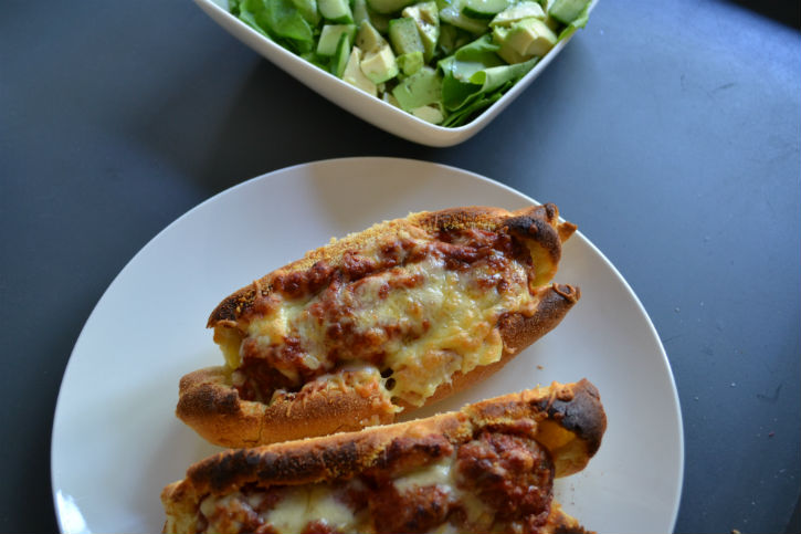 Italiaans broodje bal