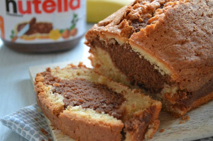 banaan nutella cake 2