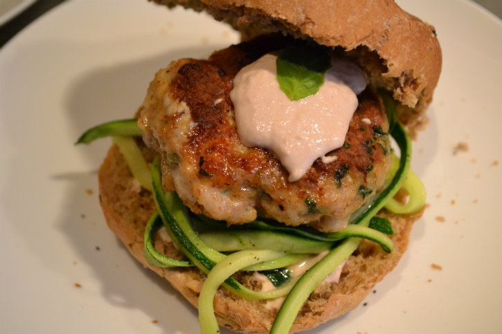 kipburger tonijnmayonaise